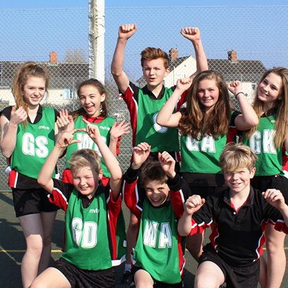 House Netball Teams Spring Into Action