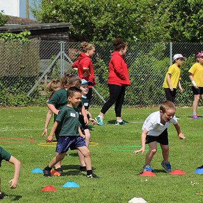Fun In The Sun at Multi Skills Sports Festival
