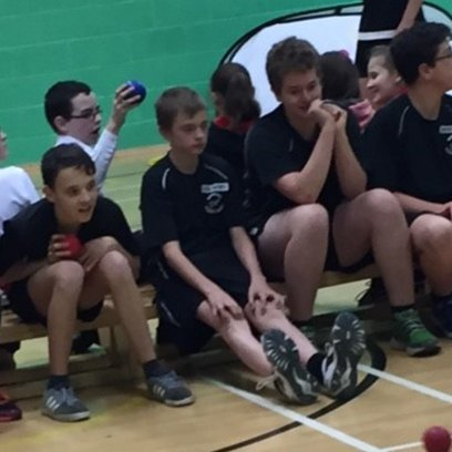 Brilliant at Boccia