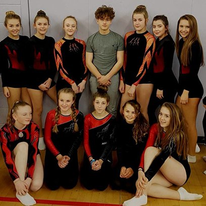 Tremendous Trampolining Talent on Show
