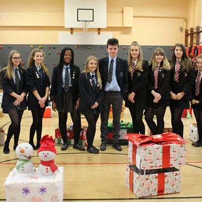 Hampers Help Local Families