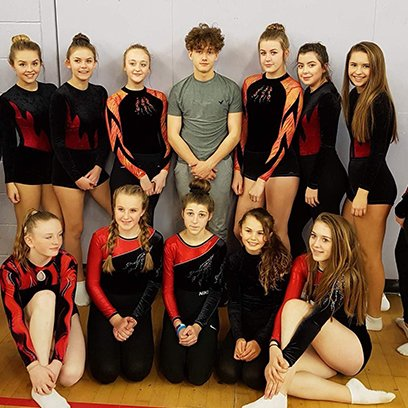 Triumph at Trampolining Zonals