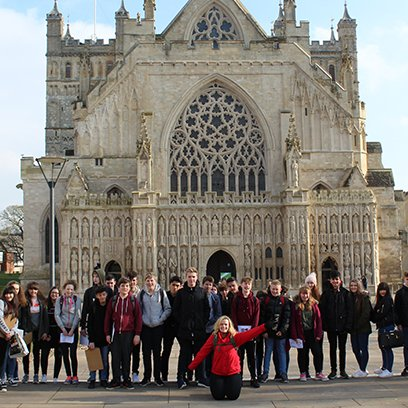 Exeter Princesshay Geography Field Trip
