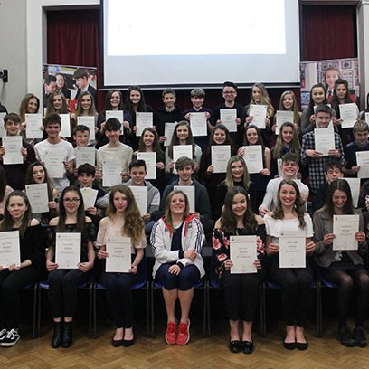 D of E Bronze Presentation Evening 2018