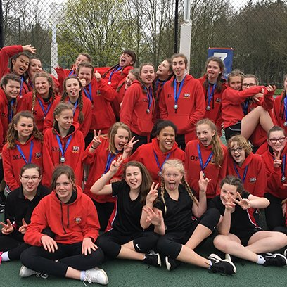 Silver Trophies for our Netball Squads