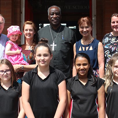 Connecting Cultures: Bishop Muchombo visits Haygrove
