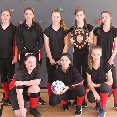 Success for Girls at Football Finals