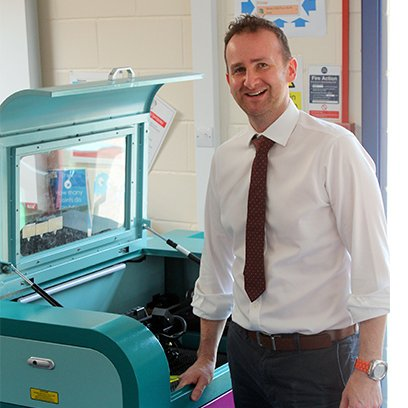 Laser Cutter Set to Enhance Learning