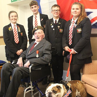 War veteran Maurice Stone awarded the Legion D'honneur